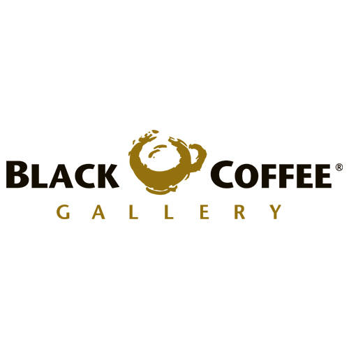 Logo: BLACK COFFEE GALLERY
