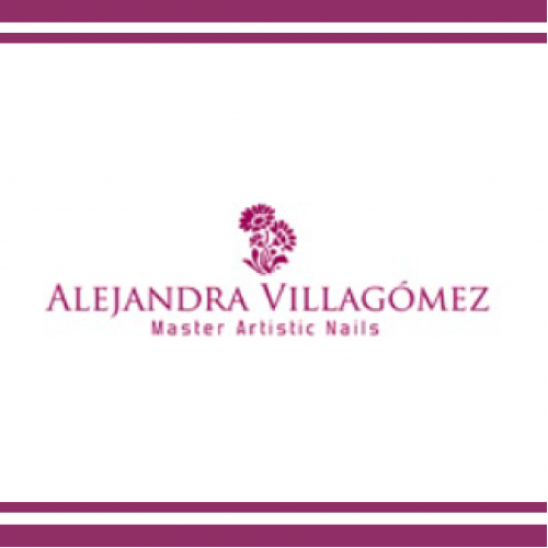 Logo: ALEJANDRA VILLAGOMEZ NAILS BOUTIQUE