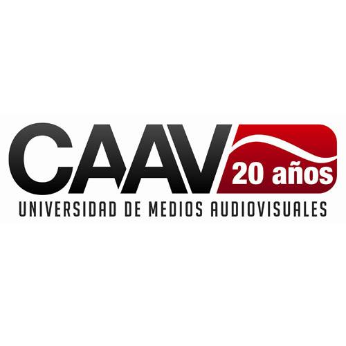 Logo: UNIVERSIDAD DE MEDIOS AUDIOVISUALES CAAV